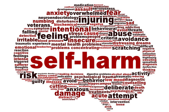 Self-harm is not just attention seeking